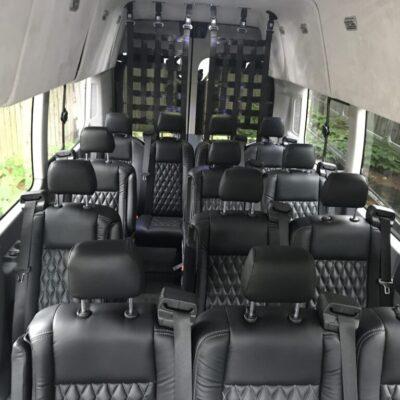 Transit Van Inside View